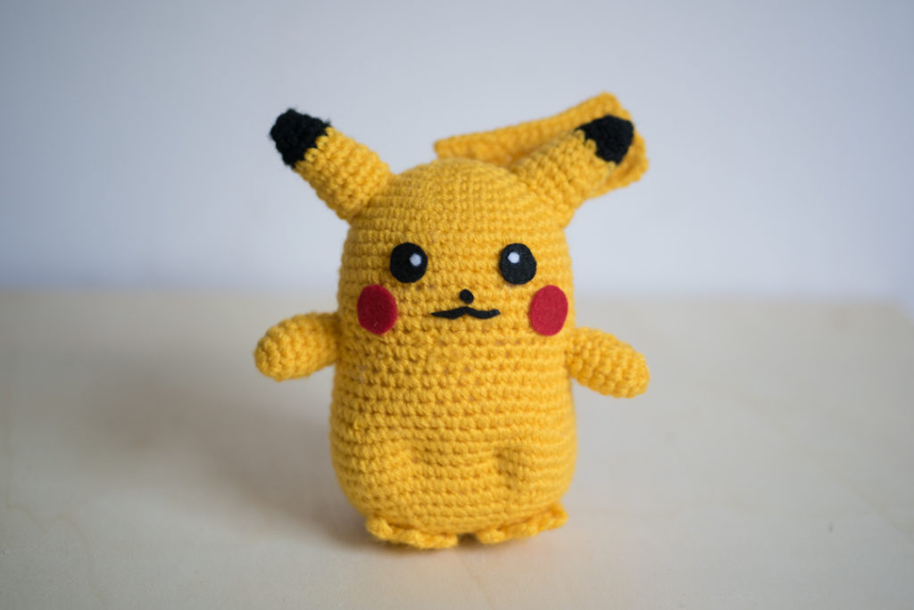 Life Size Pikachu Pokemon Amigurumi Pattern | Blog by Tiny Rabbit ...
