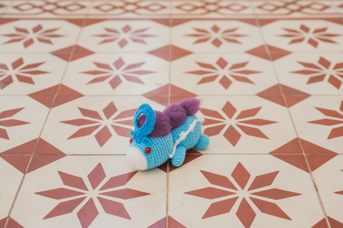Unlock Legendary Suicune Amigurumi into the world!