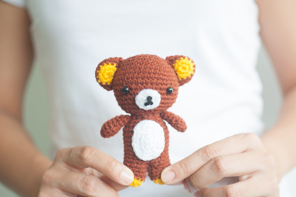 Tiny Rabbit Hole - History of Crocheted Amigurumi Doll. Why? How? When? - rilek kuma bear