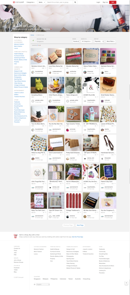 Tiny Rabbit Hole - We are on Carousell's first page!! - amigurumi
