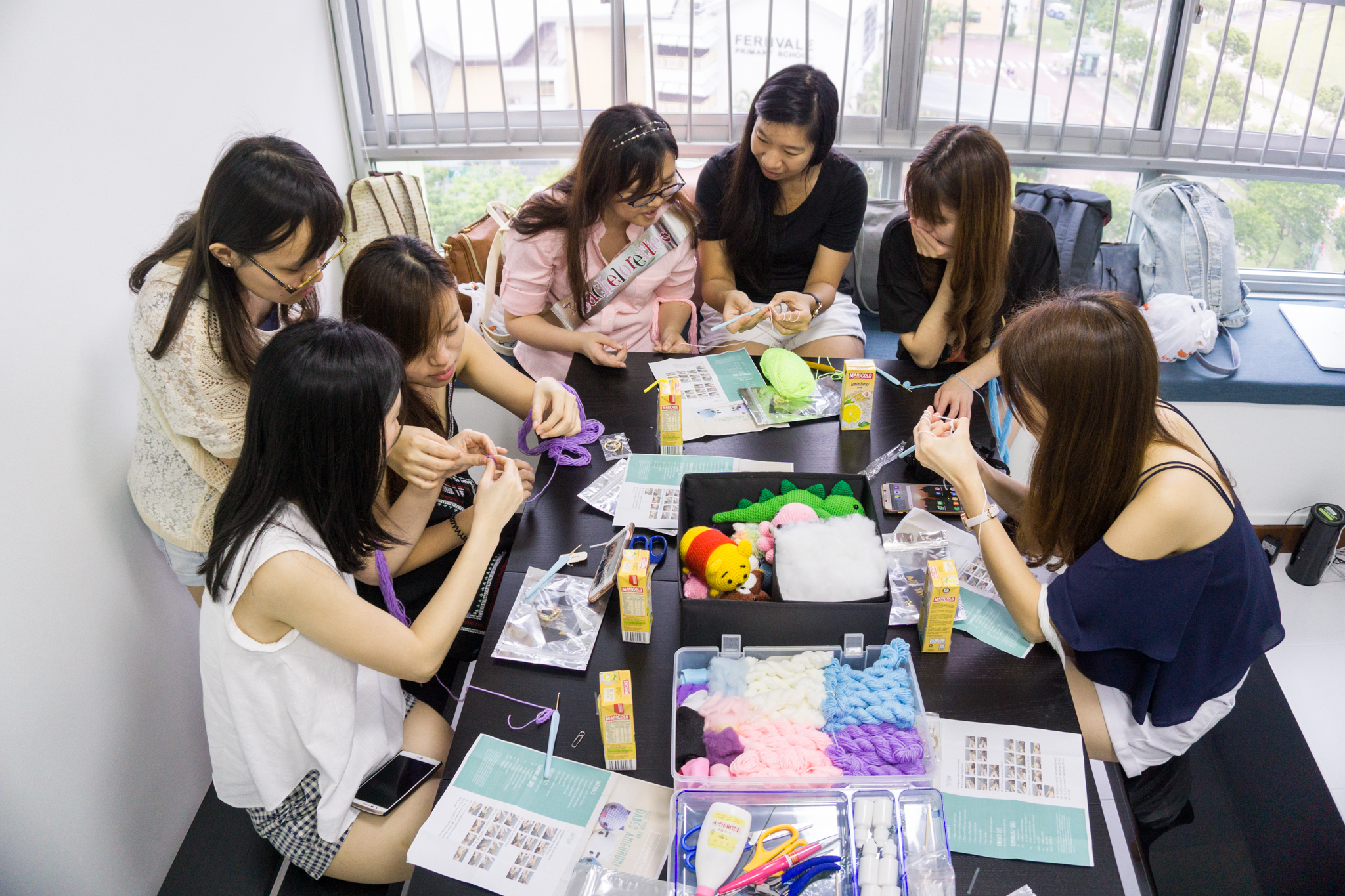 More Bachelorette Amigurumi Workshops Executed in Singapore!