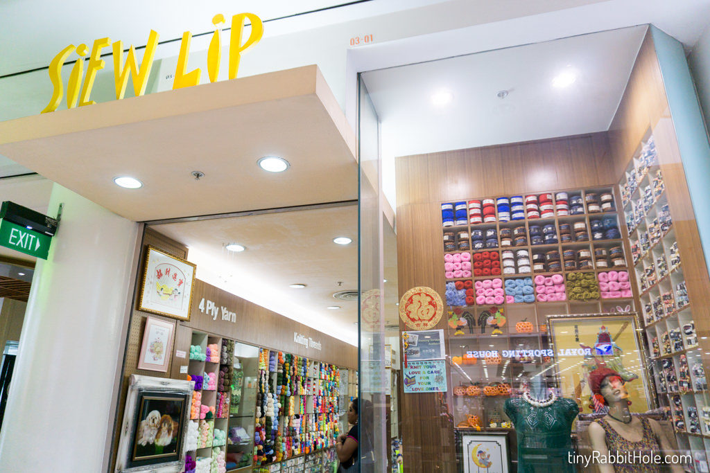 Tiny Rabbit Hole - Siew Lip – Jurong Point Shopping Centre Craft Shop - crochet supplies in Singapore - amigurumi supplies - craft shop