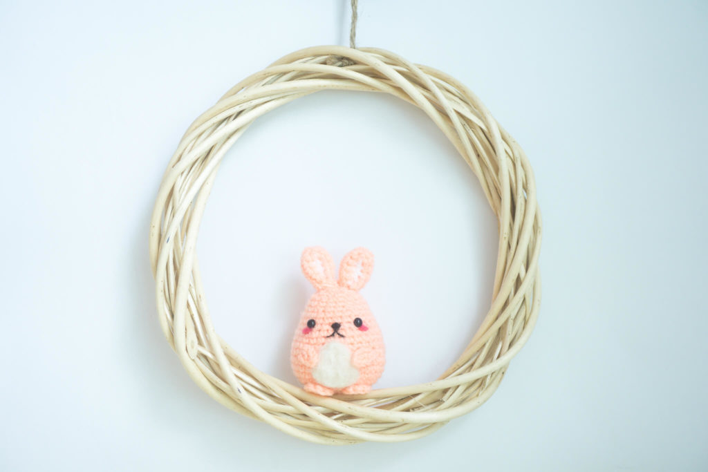 Tiny Rabbit Hole - Easter is the time to keep a Tamago Bunny! - amigurumi bunny - cute crocheted animals - kawaii bunny