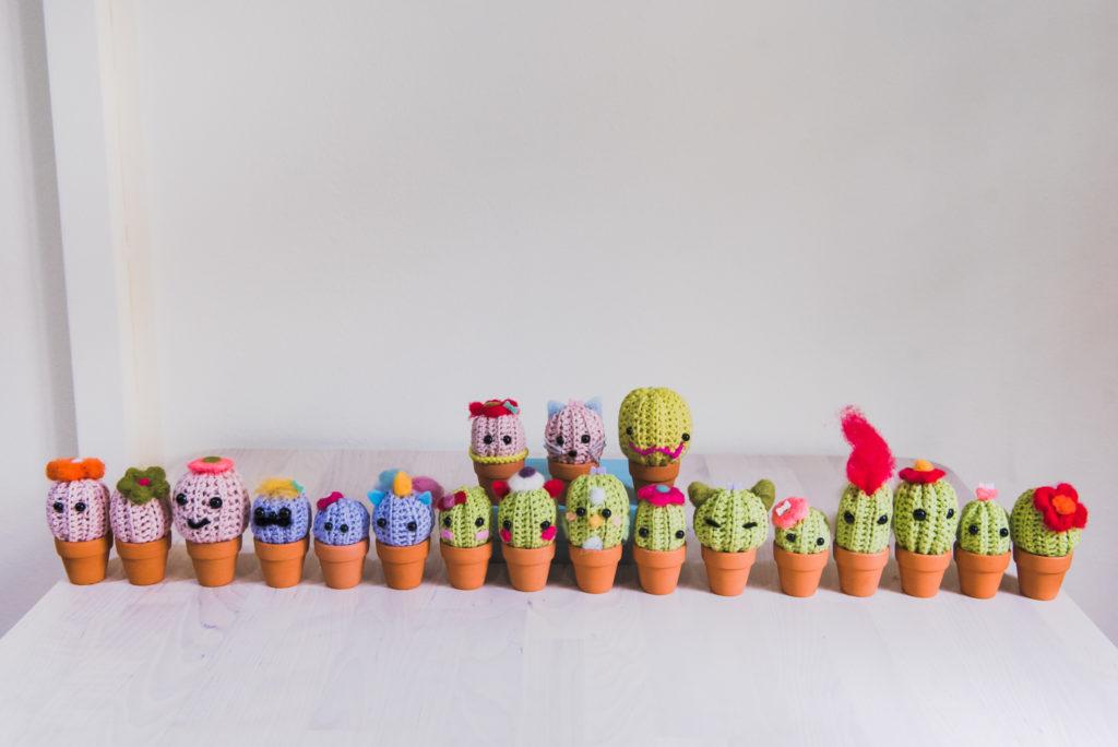 Tiny Rabbit Hole – Cactus Crochet Amigurumi Workshop Singapore