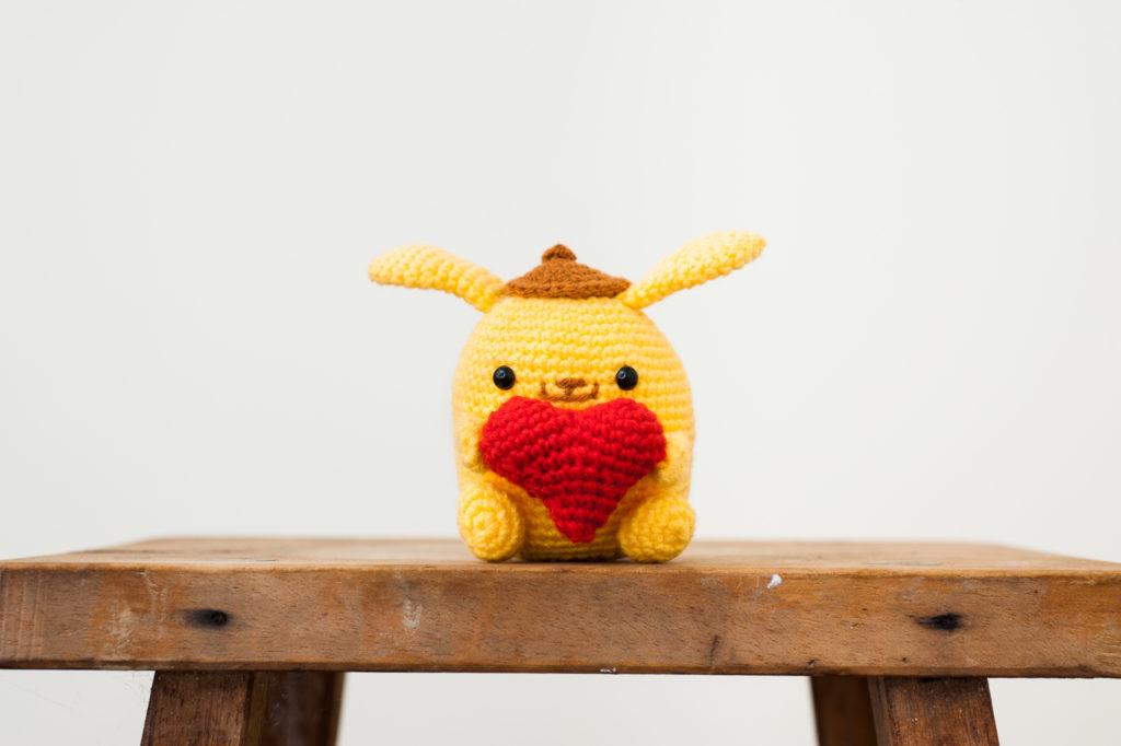 Tiny Rabbit Hole – Valentine's Day Amigurumi Crochet