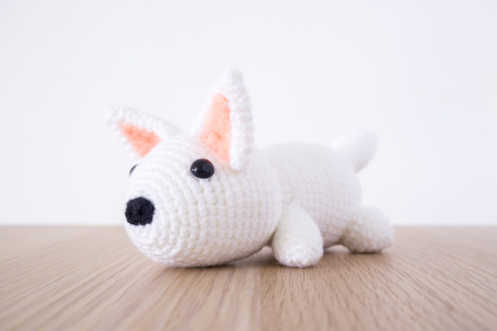 Tiny Rabbit Hole – Valentine's Day Amigurumi Orders Dog Crochet