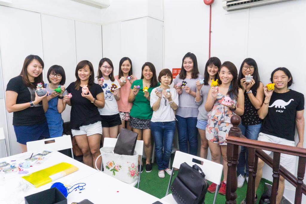 Tiny Rabbit Hole – Amigurumi Crochet Workshop at Clarke Quay SIngapore