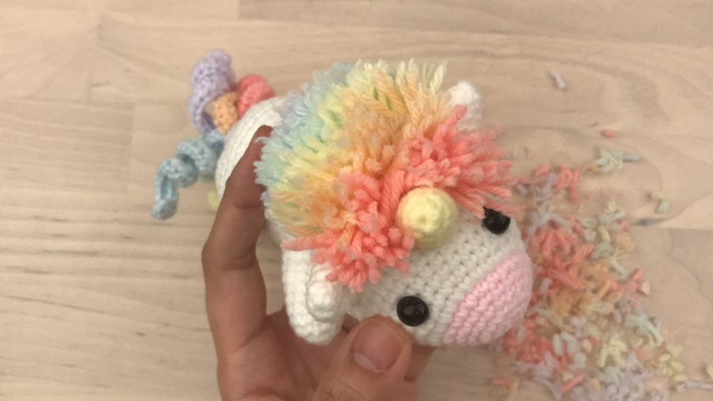 Tiny Rabbit Hole – Toki the Bunny Amigurumi Pattern Free Singapore Crochet Best Workshop Chinatown Marshmallow Rainbow Unicorn Lazy Colourful