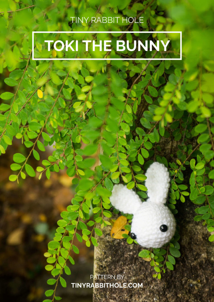 Tiny Rabbit Hole – Toki the Bunny Amigurumi Pattern Free Singapore Crochet Best Workshop Chinatown