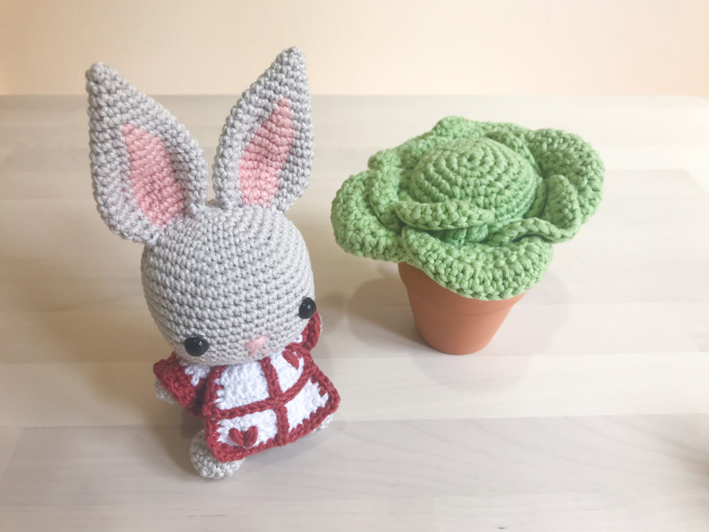Tiny Rabbit Hole – Bunny Cabbage Easter Amigurumi Crochet Free Pattern