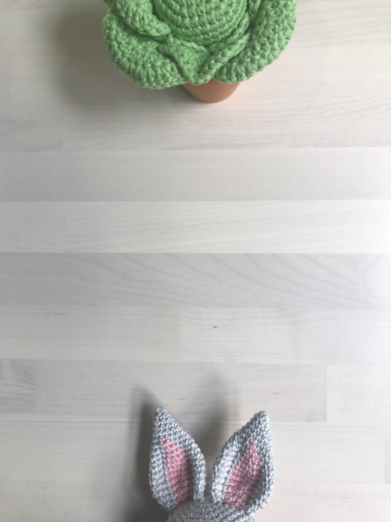 Tiny Rabbit Hole – Bunny Cabbage Easter Amigurumi Crochet Free Pattern