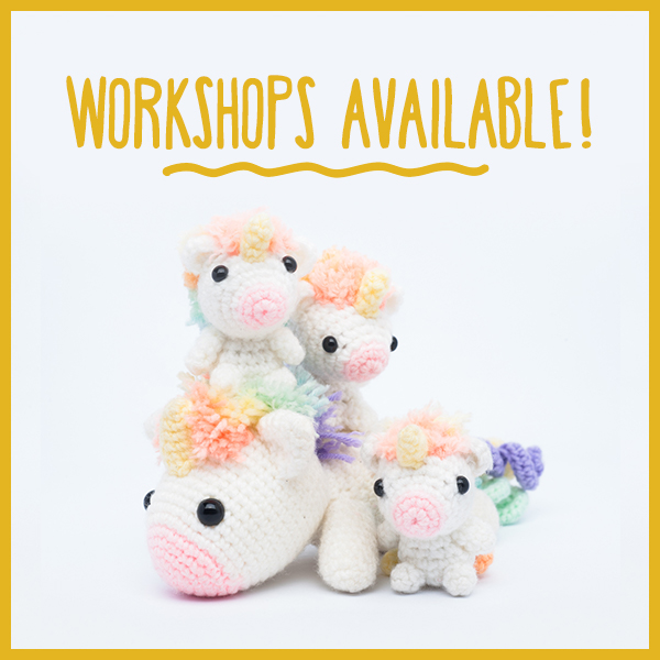 Learn how to make your own amigurumi!