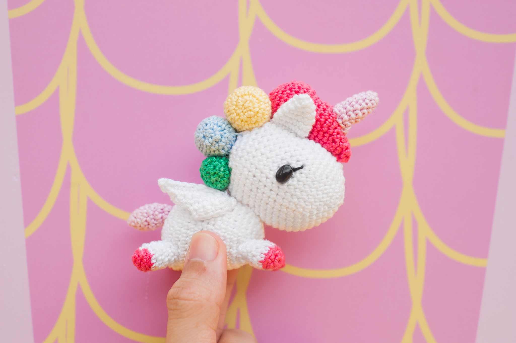 Tiny Rabbit Hole – Tokidoki Unicorno Stellina Amigurumi Crochet Singapore Colourful Rainbow