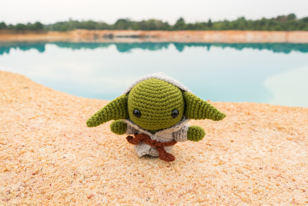 May The 4th Be With You Yoda From Star Wars Free Crochet Pattern