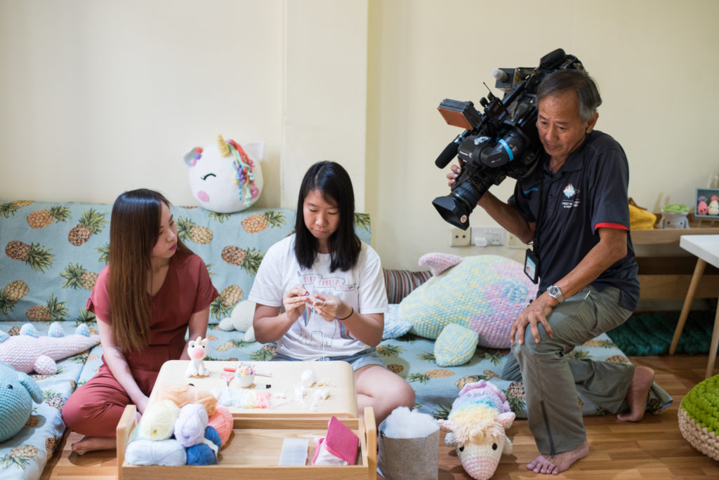 Tiny Rabbit Hole – Featured by Mediacorp Channel 8 News 流行挖哇WOW amigurumi crochet