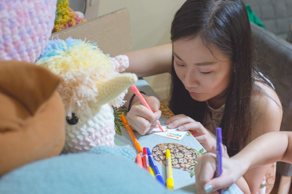 Tiny Rabbit Hole – Unicorn Day Chinatown Crochet Party Fun Games Kids Family Xiufensilver Photography