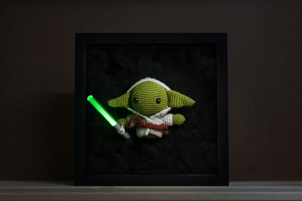 Tiny Rabbit Hole – May the fourth be with you! Yoda from Star Wars Free Amigurumi Crochet Pattern