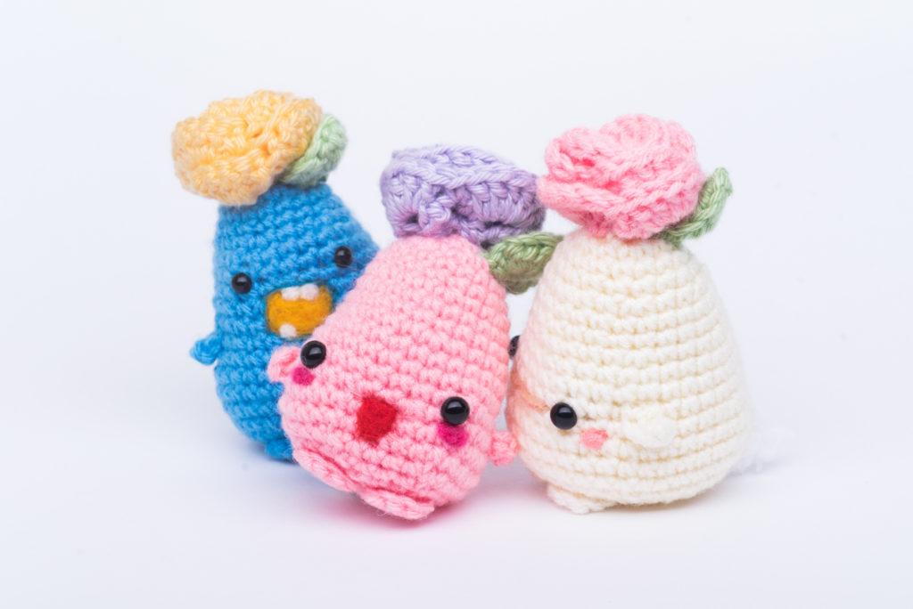 Tiny Rabbit Hole – crochet amigurumi anime jambu harry potter pixar