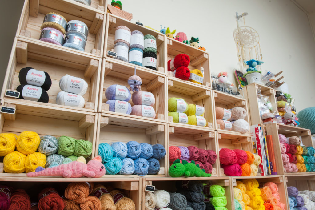 Tiny Rabbit Hole – yarn studio shop singapore crochet amigurumi knitting cotton acrylic chinatown